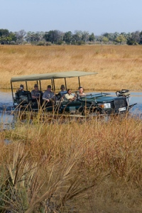 Crossing the Okavango Delta